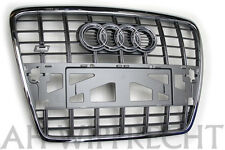 NEU Audi S6 V10 A6 4F Tuning Grill Kühlergrill Chrom Grill S6 Chrom Frontgrill