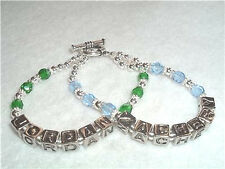 Personalized Mommy Mother Mom Bracelet 2 Name  2 Strand