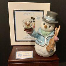 "Precious Moments 2011 ""Evening Rehearsal"" Snowman Figurine 111043"