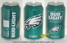 2016 PHILADELPHIA EAGLES BUD LIGHT KICKOFF BEER CAN PA FOOTBALL SPORTS MAN CAVE