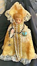 Infant of Prague w Dress Figurine Art Statue Chalkware by 2nd Hand Revival 12""
