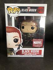 Funko Pop! Marvel Movie Black Widow #619 Marvel Collector Corps Exclusive