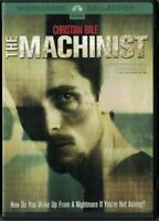DVD THE MACHINIST CHRISTIAN BALE WIDESCREEN COLLECTION USED