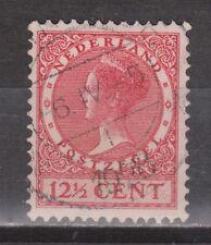 NVPH Netherlands Nederland 184 used Wilhelmina Veth serie 1926-1939 Pays Bas