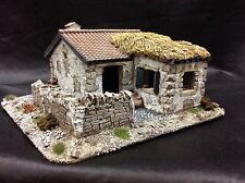 28mm Spanish Or Italian Style House With Yard. Ancients To WWII Pro Painted.