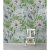 Modern Daisies Floral removable wallpaper self adhesive wall mural peel & stick