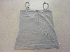 Women's LEE Riders Size 10 AU Singlet/Tank Top Grey / Gold ExCon Metallic Foil
