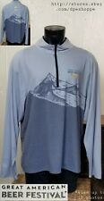 New listing Great American Beer Festival Judge 2019 1/2 Zip Pullover L/S Loose Shirt *Sz 2Xl