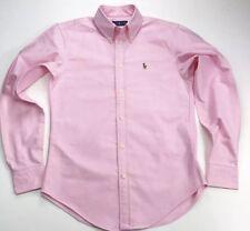 Ralph Lauren Baby Pink Ladies Oxford de Superdry-Talla XS