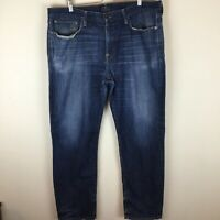 LUCKY BRAND LEGEND 221 ORIGINAL STRAIGHT OL TUMBLER GREEN SELVEDGE DENIM JEANS