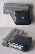 OLD AUSTRIAN PETROL CIGARETTE LIGHTER IMCO 6900 GUNLITE PISTOL BLACK FUNCTIONAL