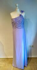 Abendkleid lang, Ballkleid, Gr. 50, violett, flieder, Chiffon
