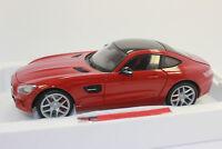 MAISTO 38131 EXCLUSIVE MERCEDES BENZ AMG GT 2015 Red 1:18 NIP SALE