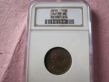 1835 Classic Head Half Cent NGC graded AU58 (Choice AU 1/2 C)