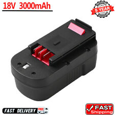 18V For Black & Decker HPB18-OPE 3000mAh Battery 244760-00  A18 BD18PSK HPB18