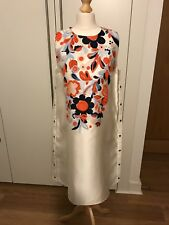 Mulberry Studded Bee Cream Dress With Embroidery Size 8 BNWT
