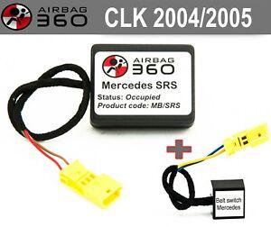 Mercedes SRS CLK 2004-2005 Passenger Seat Mat Occupancy sensor emulator bypass