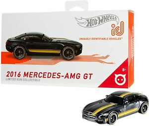 Hot Wheels ID - 2016 Mercedes AMG GT 1:64 Scale Die-Cast FXB15 NEW