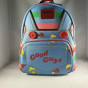 IN STOCK NEW Loungefly Child's Play Chucky Cosplay Mini Backpack