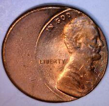MAJOR Error 40% Off Center Lincoln Memorial Cent BU + Coin O/C Lot #34  NR