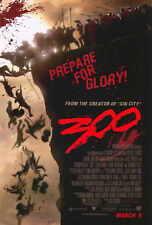 300 Movie POSTER 27x40 Gerard Butler Lena Headey David Wenham Dominic West