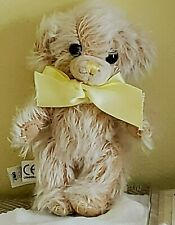 "New ListingMerrythought Limited Edition 7"" Mohair Cheeky Teddy Bear: Lemon Tea"