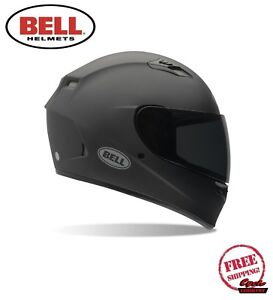 BELL QUALIFIER MOTORCYCLE HELMET MATTE FLAT BLACK DOT APPROVED FREE SHIPPING NEW
