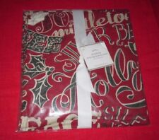 Pottery Barn Accents Mistletoe Ironing Board Cover - Nwt