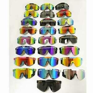 Pit Viper Sport Goggles UV400 Polarized Sunglasses Original Unisex Outdoor