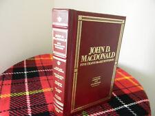 John D. MacDonald, Five Travis McGee Novels -1985, Hardcover -bonded leather VG