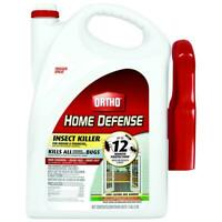 Home Defense Insect Killer Indoor Roaches Odor Free & Trigger Spray 1 Gal.