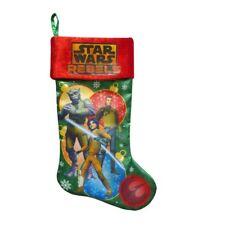 "New ! Star Wars Rebels Cartoon 20"" Christmas Stocking"