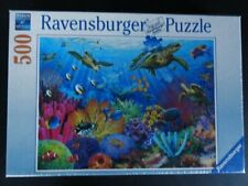 Ravensburger Tropical Waters 500 PC Puzzle New Sealed Fast Priority Ship 146611