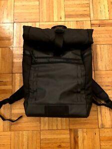 Timbuk2 Tech Roll Top Black Backpack