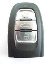 Reemplazo 3 Botón FOB Funda Para AUDI A1 A3 A4 A5 A6 Q3 Q5 Remoto Fob
