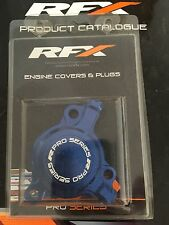 RFX PRO SERIES BLUE OIL FILTER CASE COVER YAMAHA YZF250 01-13 FREE P&P