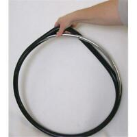 New Solutions PRC540 Push Rims Covers 24 in. for Wheelchair Black Vinyl - Set...