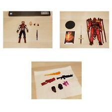 Power Rangers Cybervillain + Blaze McFarlane Azrael + Accessories