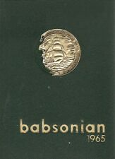 College Yearbook Babson Institute Of Business Administration Babson Park MA 1965