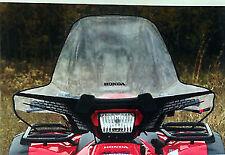 HONDA WINDSCREEN TRX420 RANCHER/AT TRX680 RINCON OFF ROAD ATV 0SR01-TRX-100