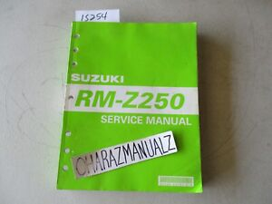 2004 2005 Suzuki RM-Z250 Service Manual