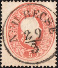 """AUTRICHE / SERBIA / ÖSTERREICH (Temes) """"NEU BECSE"""" (Mueller 1868c) on Mi.20"""