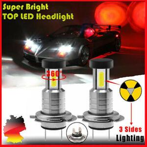 H4 360º LED Scheinwerfer Kit Fern-/ Abblendlicht Xenon Birnen Lampen 110W 6000K