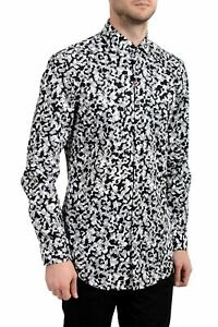 "Hugo Boss ""Kason"" Men's Slim Long Sleeve Dress Shirt US 15.75 IT 40"
