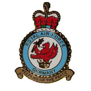 RAF Germany (RAFG) crest 25mm Pin badge