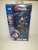 New: Gears Of War 4 KAIT DIAZ Action Figure w/ Bonus Gear Pack