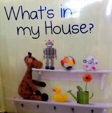 My Picture Book Animals and What's in my House? Children's padded hardcover