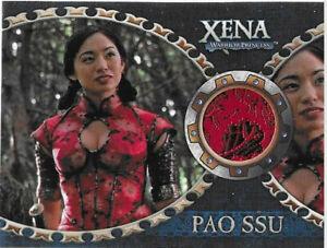 "Xena Dangerous Liaisons costume card C1 Marie Matiko as Pao Ssu in ""Purity"""