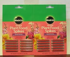 Miracle-Gro 100366 Orchid Plant Food/Fertilizer Spikes 2 pack 20 total spikes
