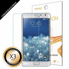 3x Clear Screen Protector Shield Guard For Samsung Note Edge